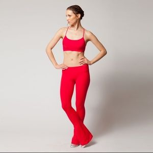 Splits59 Raquel flaired leggings, red xs